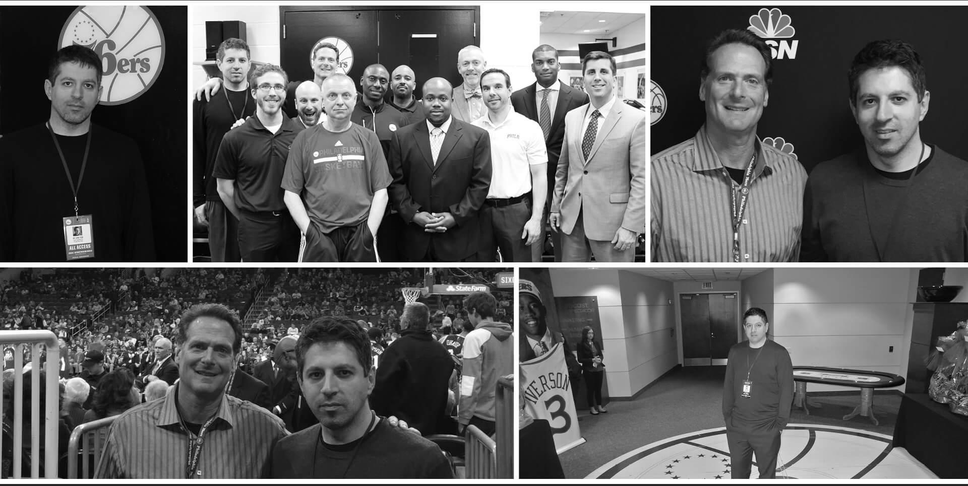 Dr. Gene Fish - Associate Chiropractor for the Philadelphia 76ers