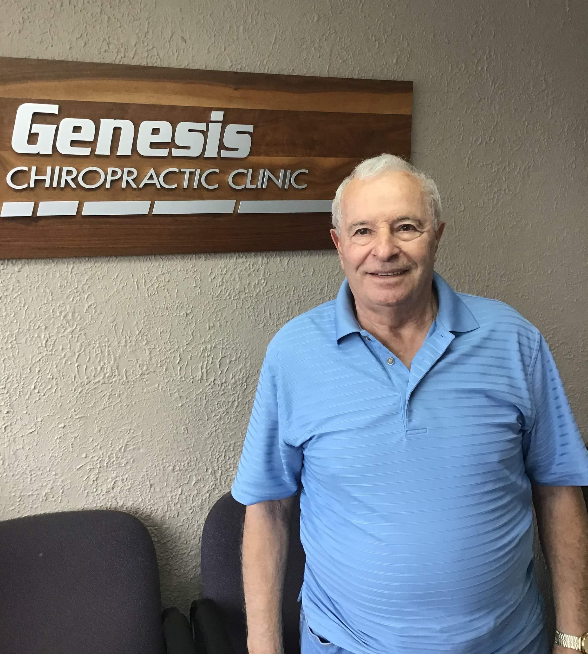 Genesis Chiropractic Patient - Guy